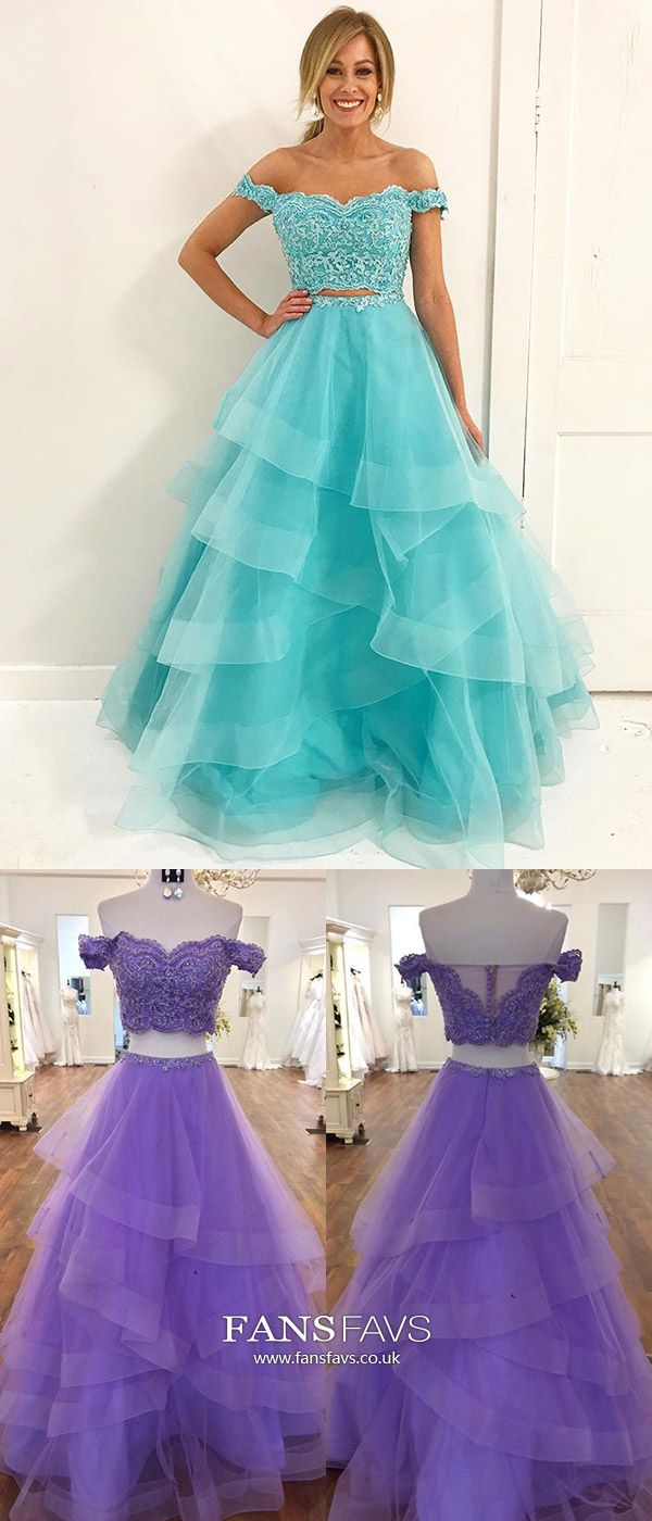 Two piece prom dresses modestsweetheart prom dresses cap sleevesa