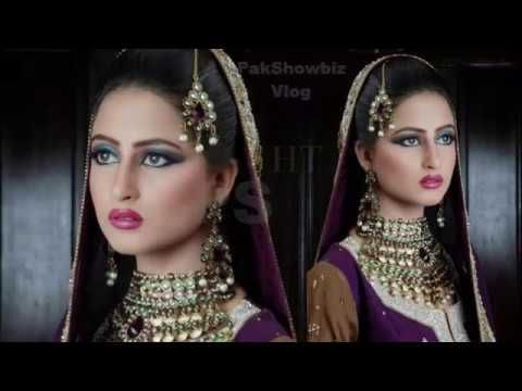 Watch Pakistani Dramas Online: Sajal Ali Latest Bridal Makeover Shoot