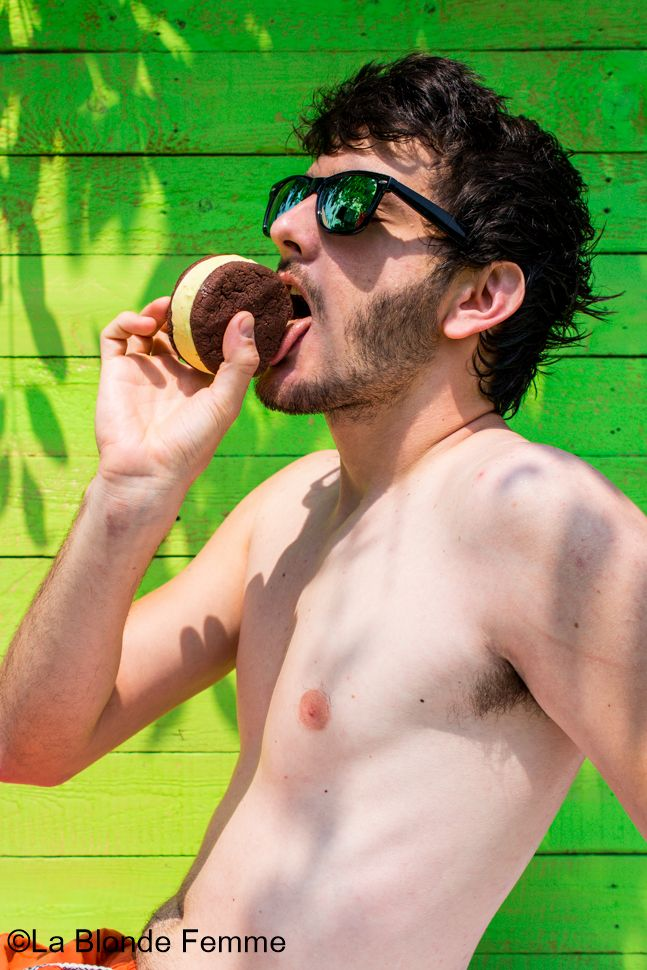 Ice Cream Sandwich! :D  http://www.lablondefemme.com/2015/06/biscotto-gelato.html