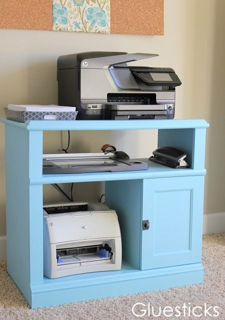 painting laminate furniture i like this printer cart - Printer Cart