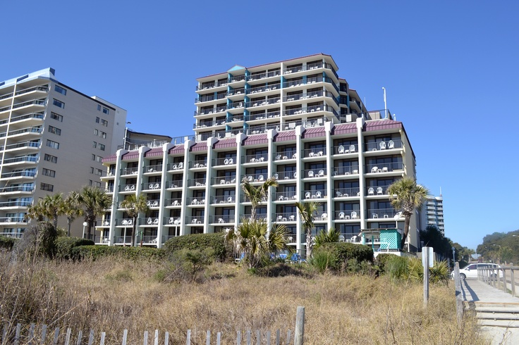 Grande Shores Ocean Resort is located near 77th Avenue North in Myrtle Beach! It's the perfect location for your next beach vacation.