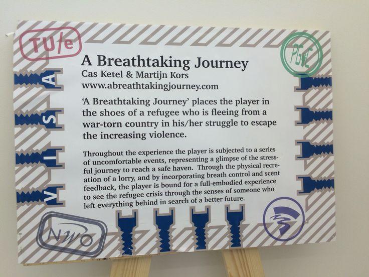 Prijswinnende Breath Taking Journey van Cas Ketel en Martijn Kors. Indrukwekkend