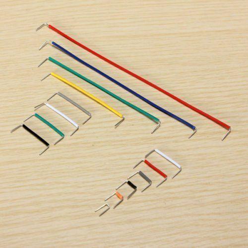 SODIAL (R) 140pcs forme de U essais sans soudure Jumper Cable Kit Fil pour Arduino Shield: Price:2.9* SODIAL est une marque deposee. Seul…