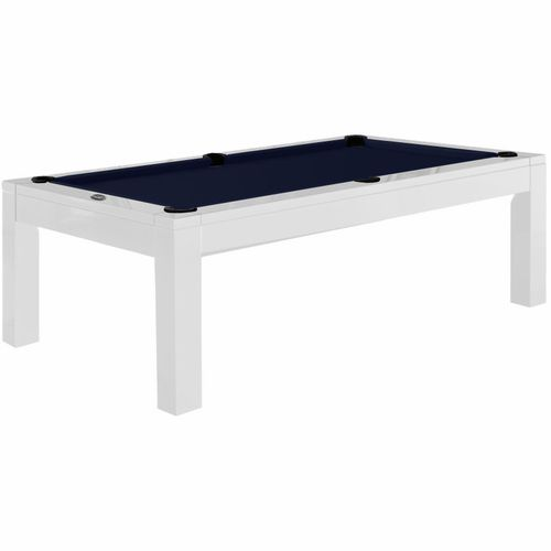 Aragon 7 Foot Dining Pool Table - White