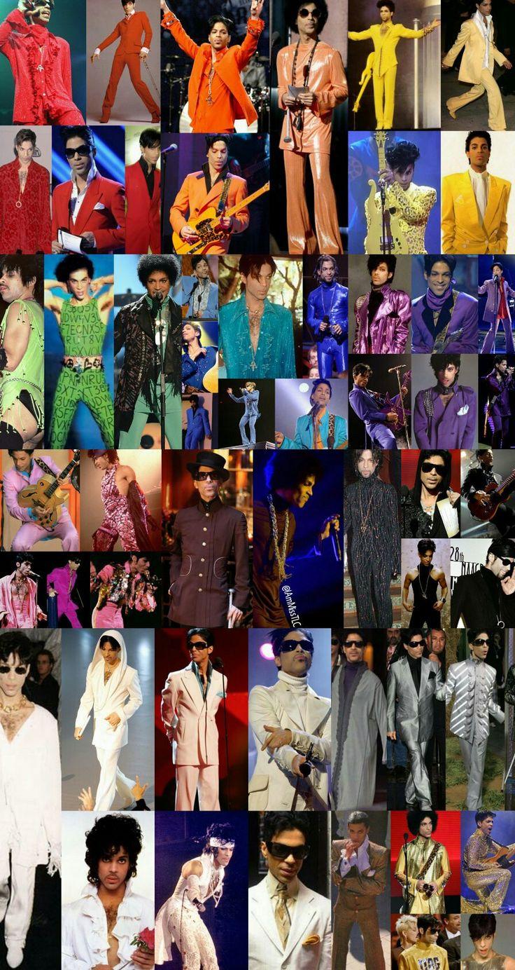 Prince colour chart