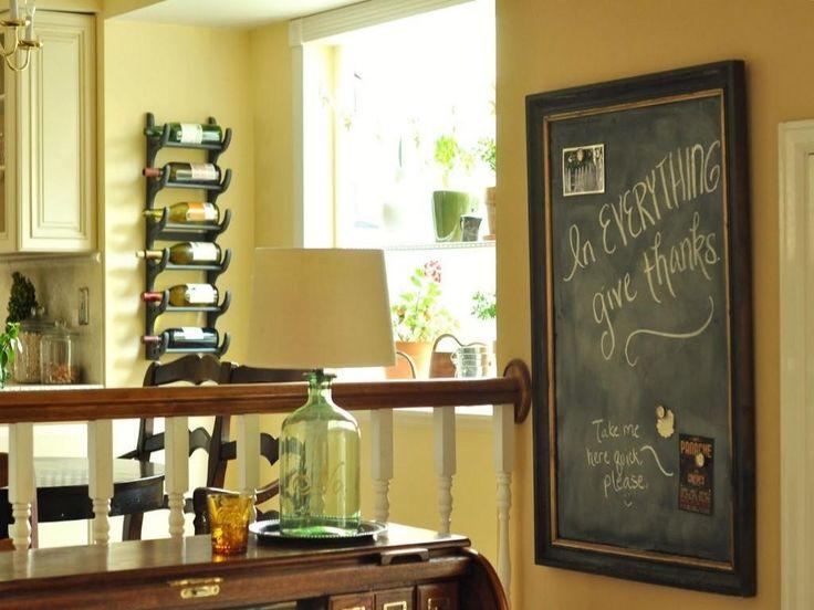 Kitchen Framed Chalkboard Wall
