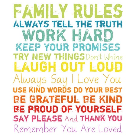 Imagini pentru rules for parents to the children
