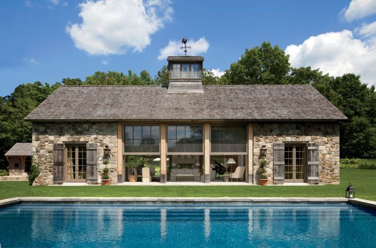Exotic Exterior by John Cottrell Co. and G. P. Schafer Architect in Litchfield County, Connecticut