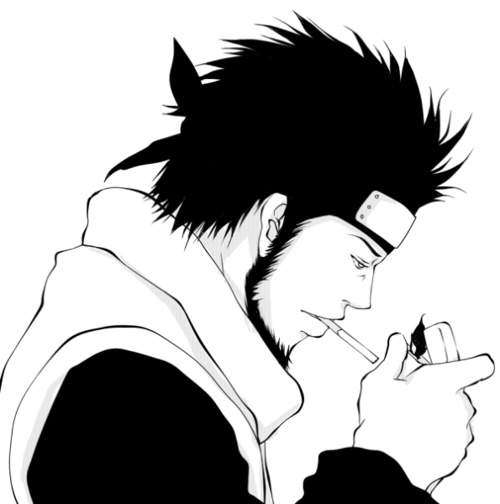 1000 images about asuma on pinterest smoking trench