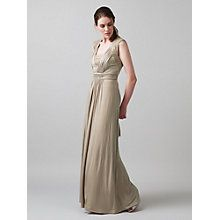 Buy Phase Eight Anabella Lace Detail Maxi Dress, Champagne Online at johnlewis.com