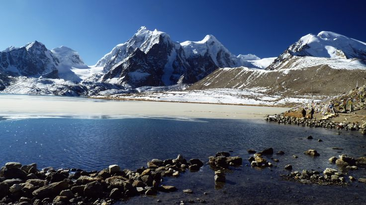 Gurudongmar Lake N.Sikkim - Gurudongmar Lake, Sikkim