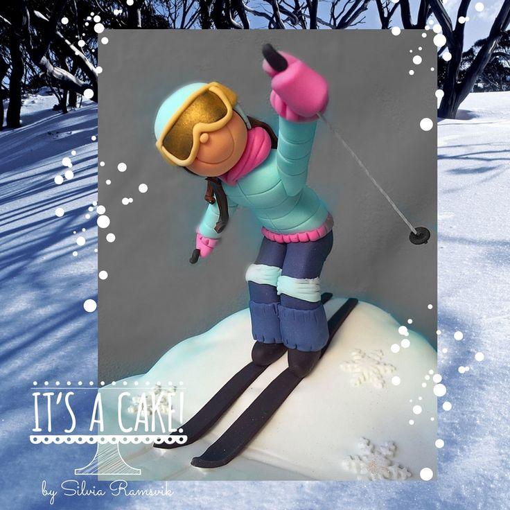 Ski cake