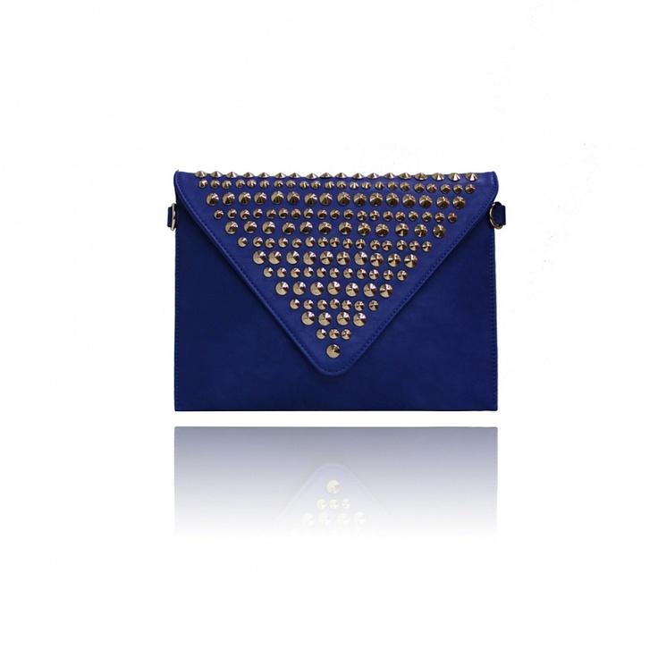 Kovové svoky s výraznou modrou od labelu London Fashion.