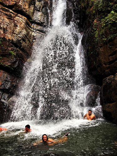 La Mina Falls . Puerto Rico www.combatebeach.com