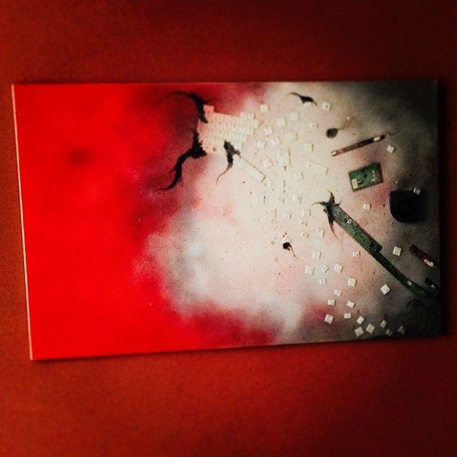 """""""Ribellione artistica #1"""" 100x60 (tecnica mista su tela)"""