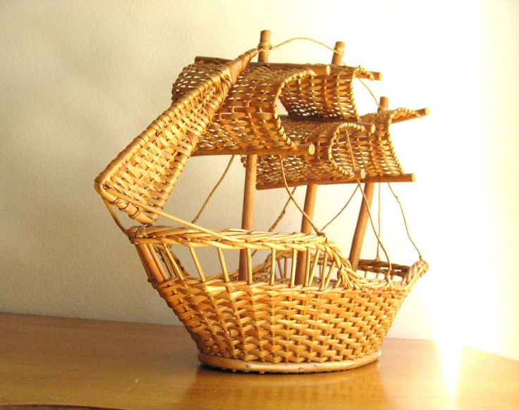 Cesta barco  -  Ship basket