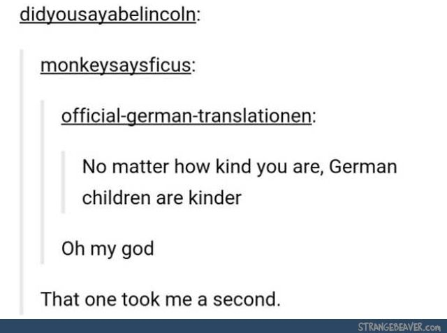 Funny tumblr post<< I got it instantly, I'm not German I did nazi Germany for my gcse lol