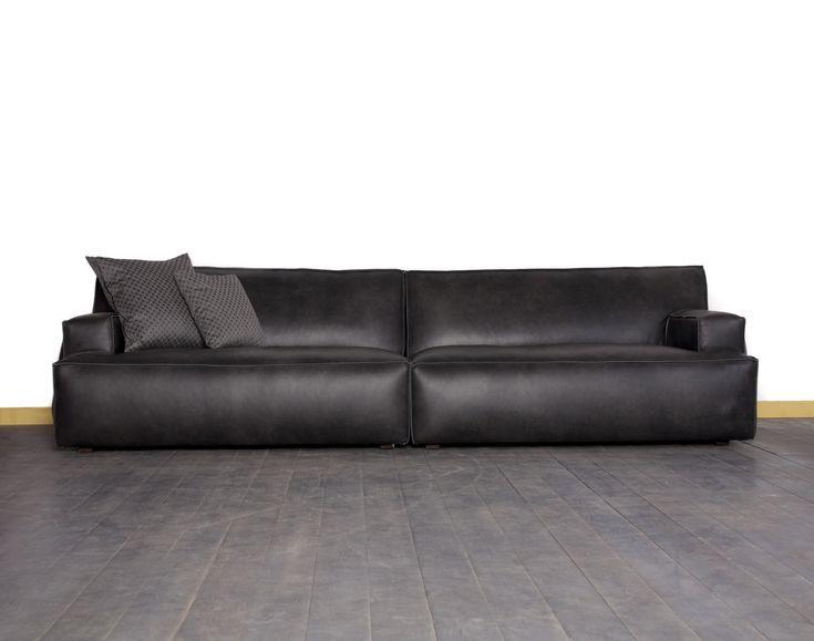 ספת עור שחורה Sofas ספות Home Decor Sofa Furniture
