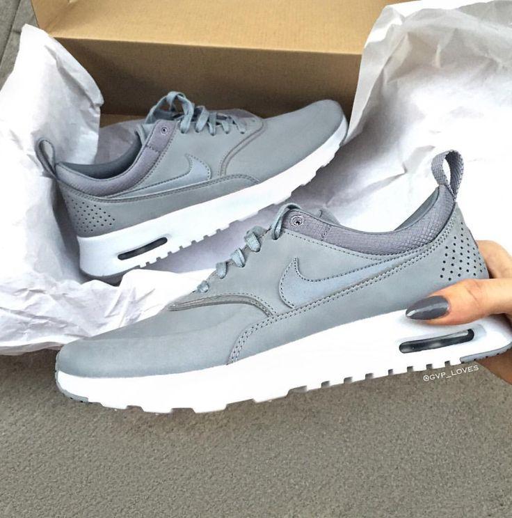 Nike Air Max Thea Premium - Grau Grey gvp_loves