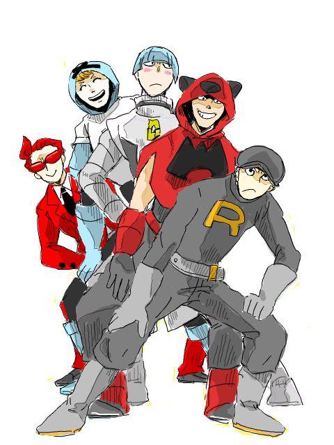pokemon Team Rocket tegaki Team Galactic Team Plasma team magma team flare no love for team aqua whomp whomp or neo team plasma