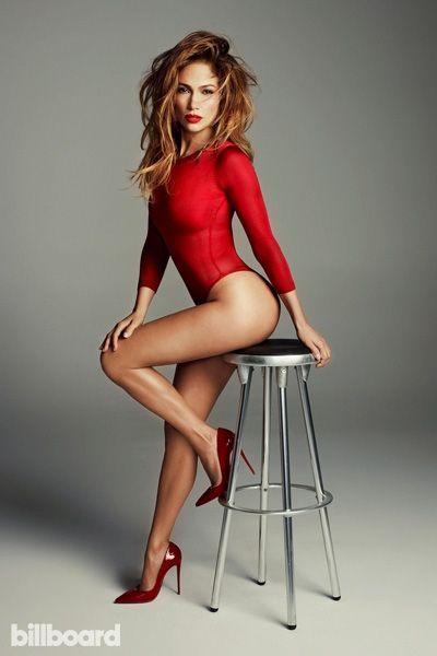 Jennifer Lopez's Covers 'Billboard'