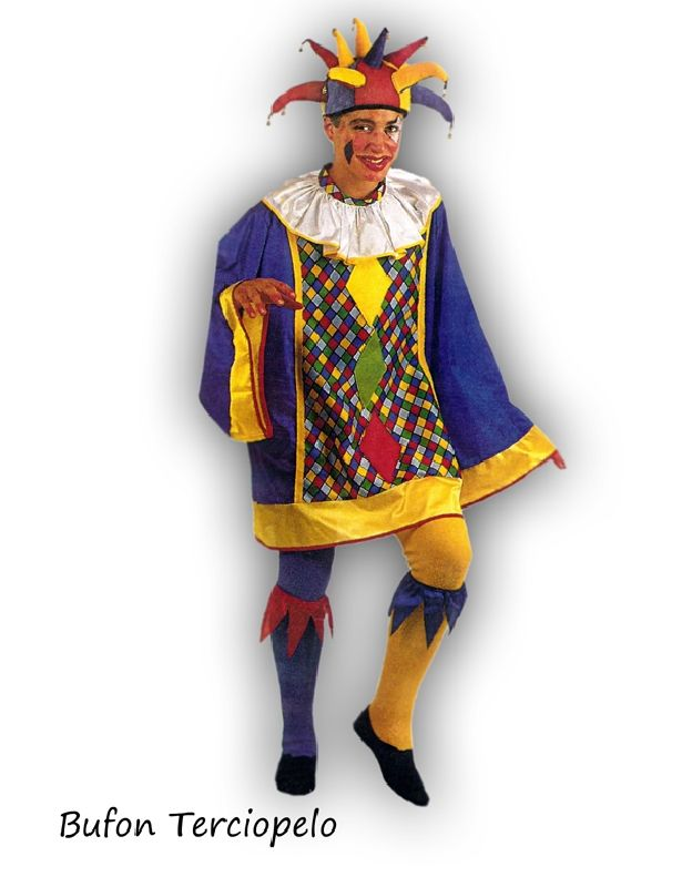 Disfraz de Bufon colores