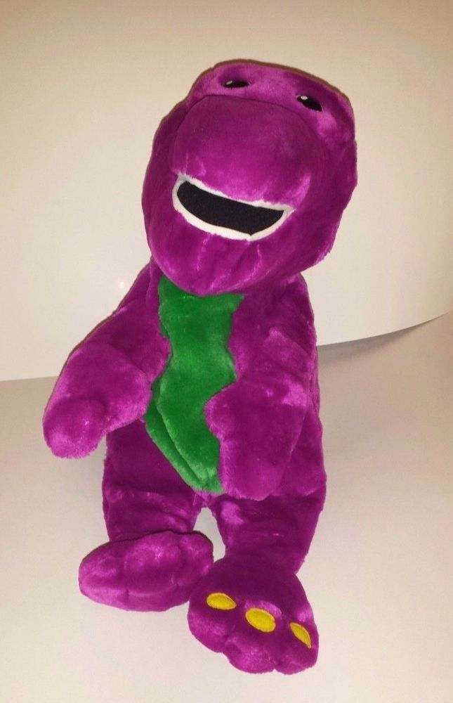 Interactive Barney THE DINOSAUR Actimates by Microsoft CORPORATION, PLUSH LYONS #microsoft