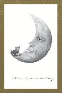 Kaart Tot aan de maan - O O, papierwaren & bureau - wenskaarten, wenskaarten - allerlei, Per merk - O O
