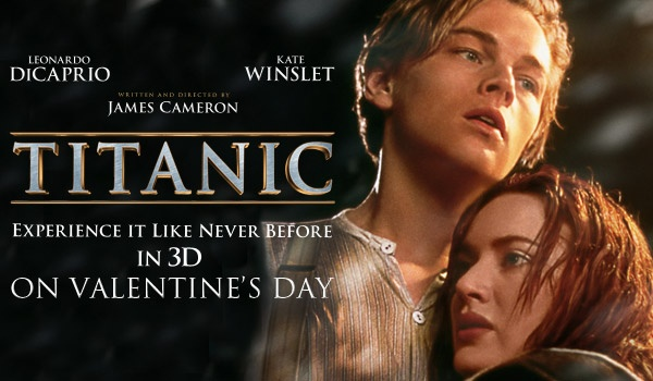 Several Titanic Movie Fact in the take screen