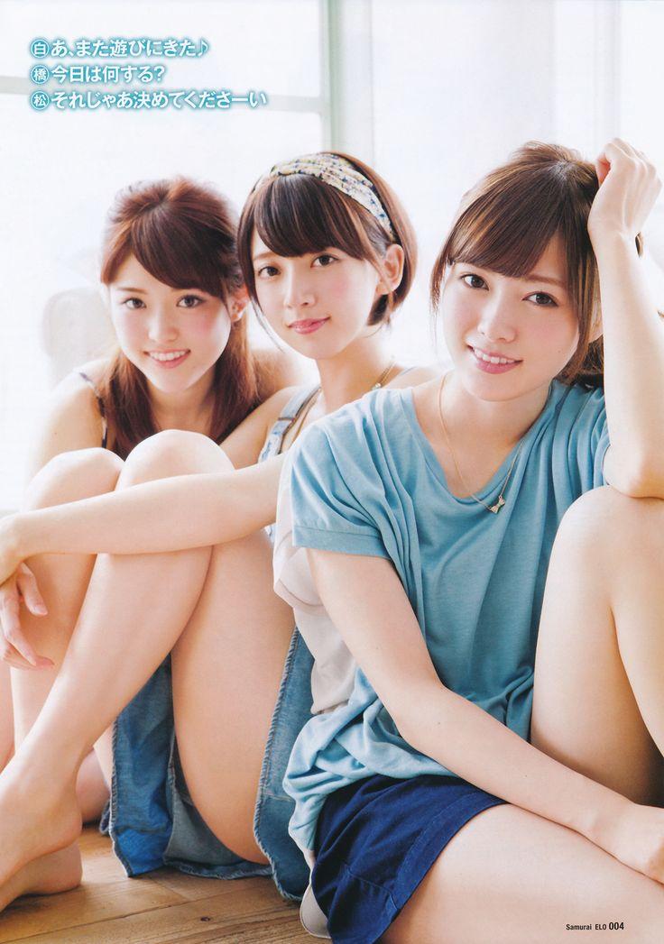 Nogizaka 46 -Sayuri Matsumura, Nanami Hashimoto, Mai Shiraishi, Erika Ikuta 乃木坂46 - 松村沙友理・橋本奈々未・白石麻衣