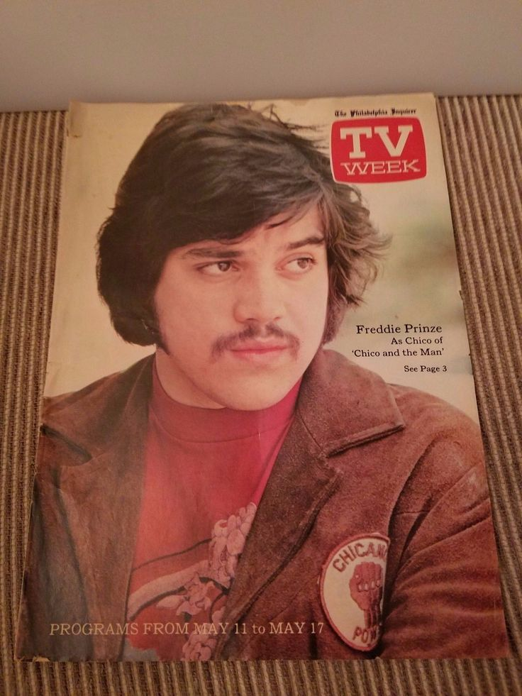 1975 Philadelphia Inquirer TV Week Freddie Prinze (Chico and the Man) May11-17 | Entertainment Memorabilia, Television Memorabilia, Merchandise & Promotional | eBay!