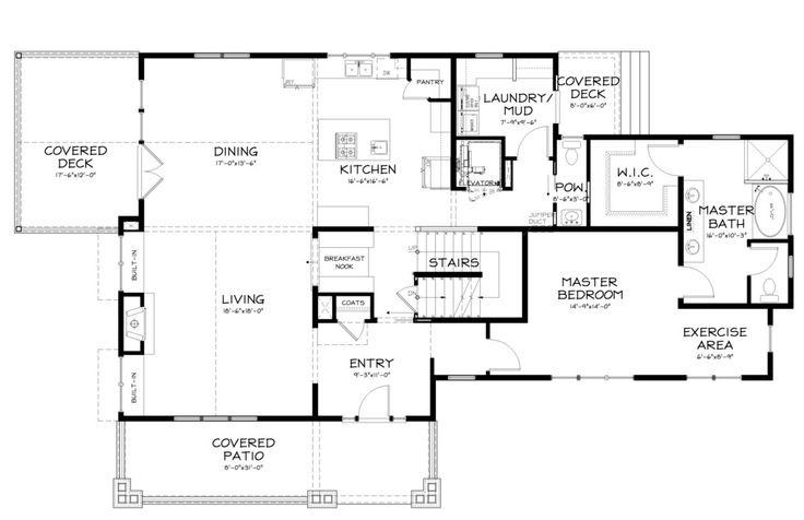 76 best House plans. 2 bedrooms, 2 bathrooms images on