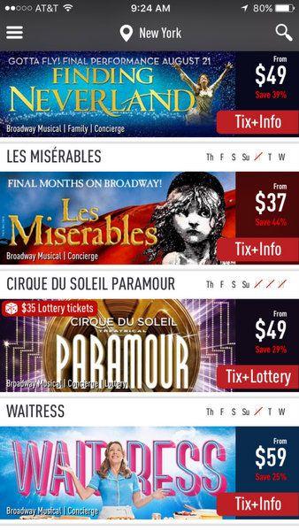 Cheap Broadway Tickets Today Tix