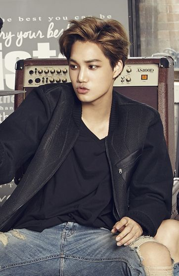 Kim Jong-in(bornJanuary 14, 1994), better known asKai, is a South Korean singer and actor. He is a member of the South Korean-Chinese boy groupEXOand its sub unitEXO