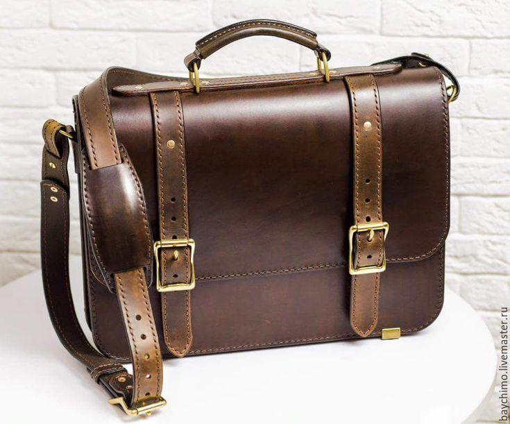 Купить Портфель - портфель, портфель из кожи, портфель мужской, портфель ручной работы, портфель для бумаг