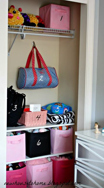 New House to Home: An Organized Closet for a Teen Girl