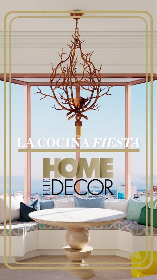 Barbacoa, Elle Decor, Digital Illustration, Home And Living, Kitchen Island, Furniture Design, House Decorations, Decoration Home, Home Decoration