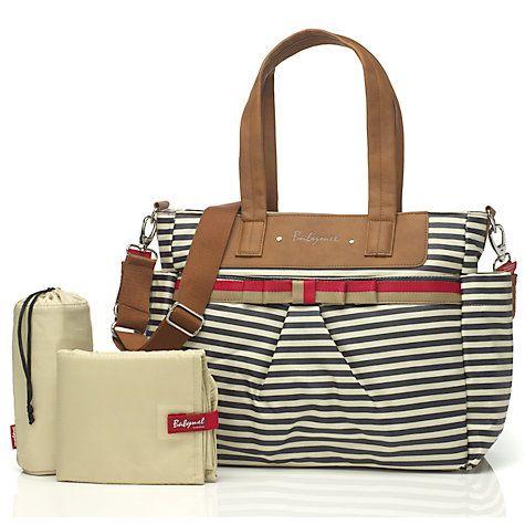 Buy Babymel Cara Changing Bag, Navy Stripe Online at johnlewis.com