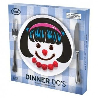 Dinner Do Girls Plate Set (set of 3)