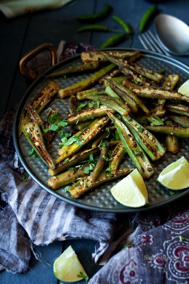 Spiced Okra @Reem Rizvi