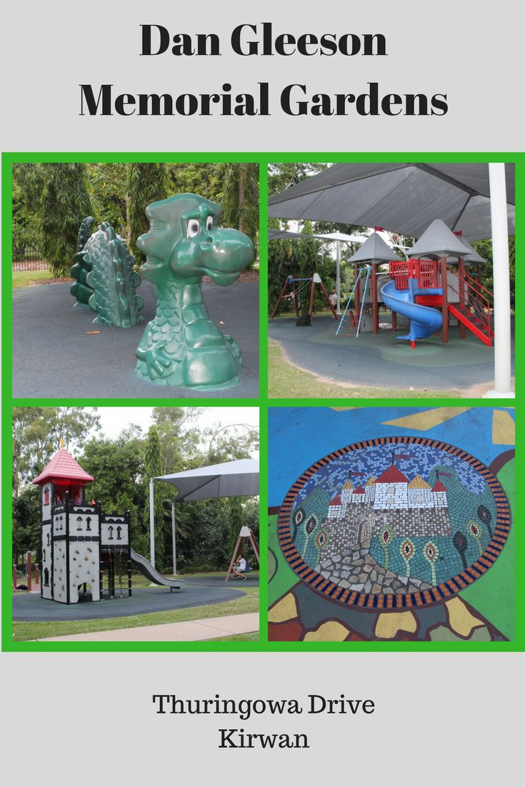 Dan Gleeson Memorial Gardens features one of the best playground in Townsville