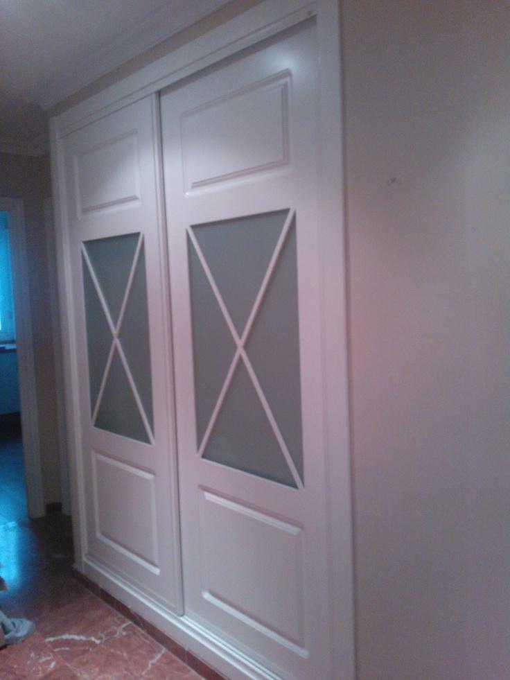Mejores 106 im genes de armarios de puertas correderas en - Armarios de cristal ...