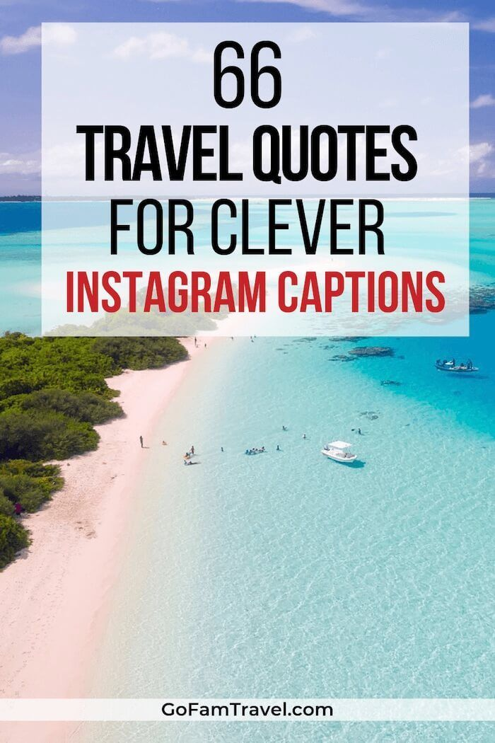66 Family Travel Quotes To Inspire You Perfect Short Instagram