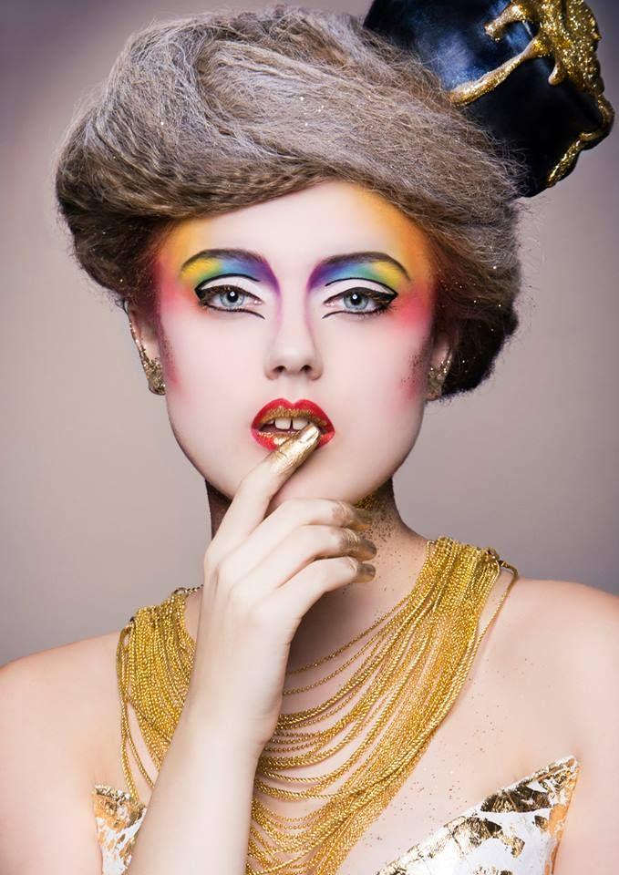 Finalist Make-up Awards 2015. Model:Christy van Asperdt #creative with #make-up