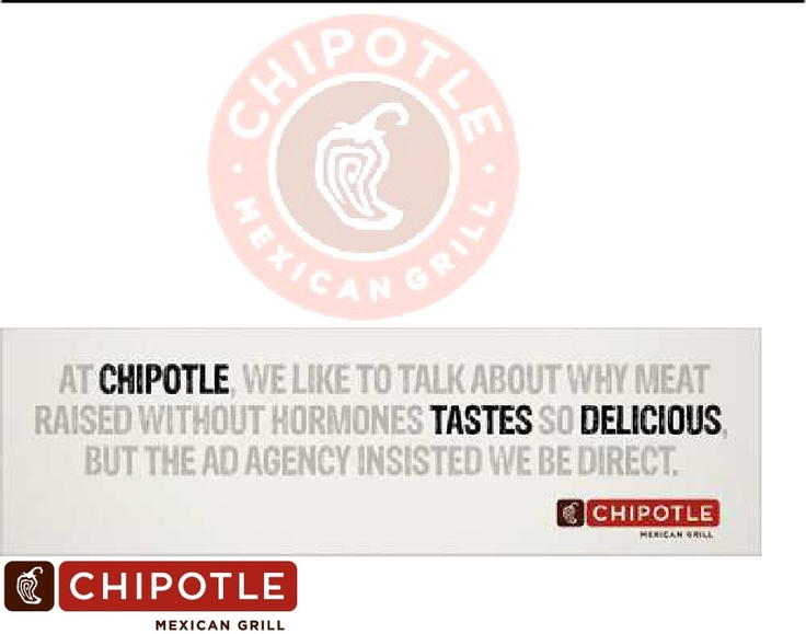 Chipotle Target Market Analysis Chipotle Brand Pinterest - target market analysis