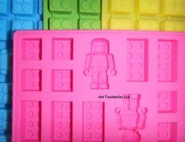 LEGO Blokken & Poppetje Mould | LEGO Blokken & Poppetje mal | Het Taartatelier Dur