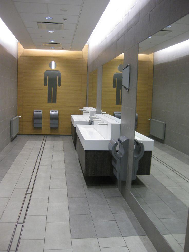 Kauppakeskus ITIS, WC remontin yhteydessä kesäkuussa 2014 asennettu DYSON DB käsienkuivaimet.