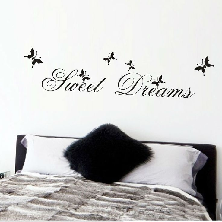 Sweet Dreams Quote Wall Sticker //Price: $7.99 & FREE Shipping //     #wallsticker
