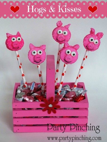 Party Planning - Party Ideas - Cute Food - Holiday Ideas -Tablescapes - Special Occasions And Events - Party Pinching - Peep Piggies