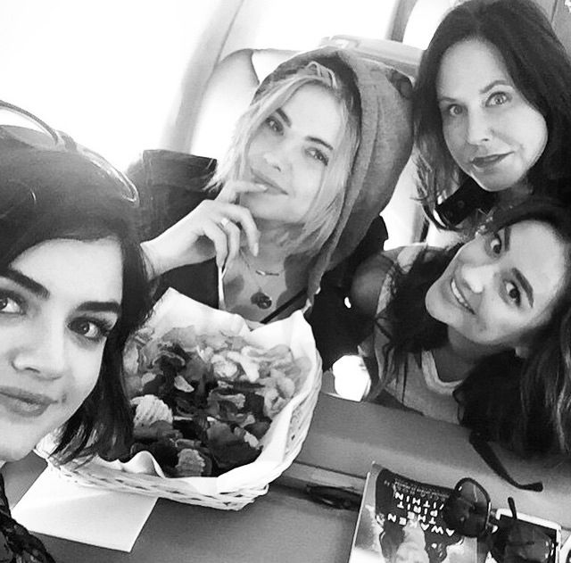 Lucy, Ashley, Shay and Marlene